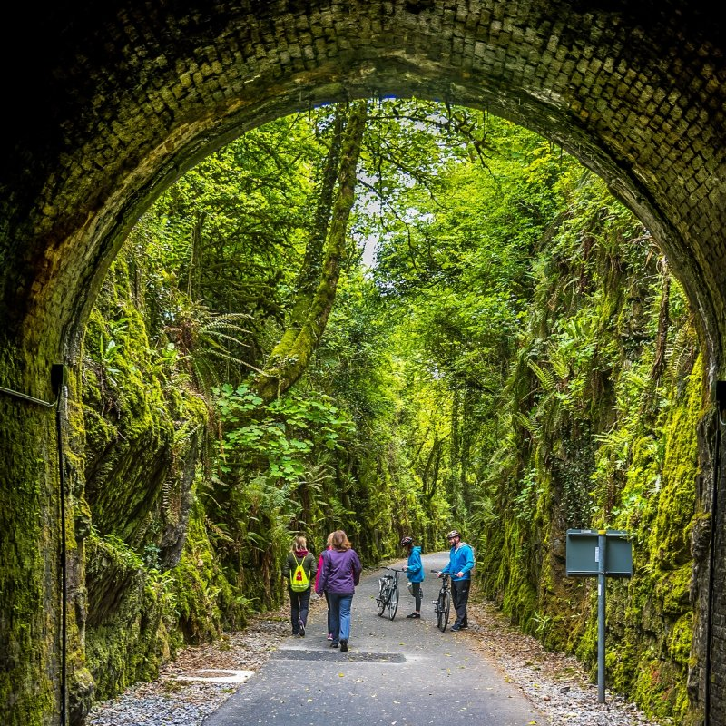 Waterford Greenway - Tunnel